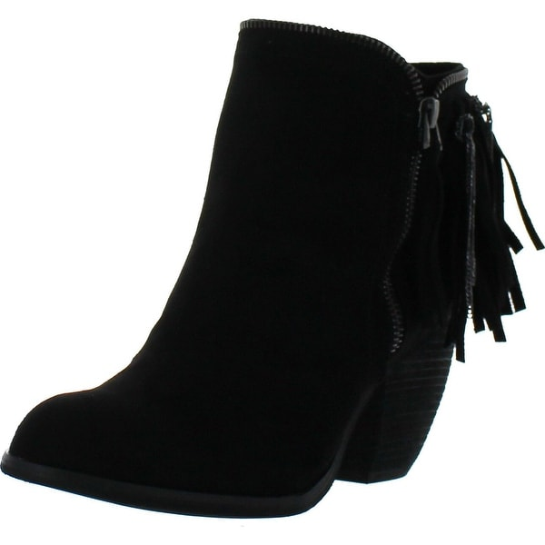 Not Rated Women's Flippin Fringe Bootie