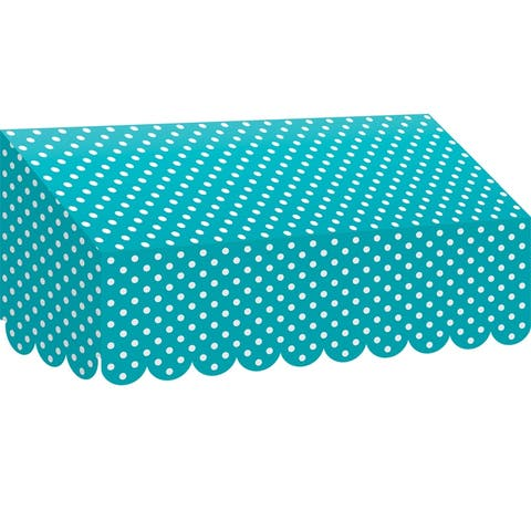Teal Polka Dots Awning, Pack of 3 - One Size