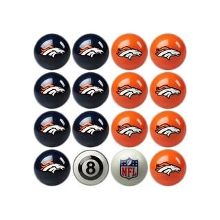 NFL Denver Broncos Home vs. Away Team Billiard Pool Ball Set