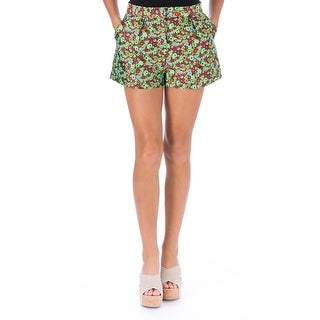 Elizabeth and James Womens Jody Jacquard Floral Print Casual Shorts