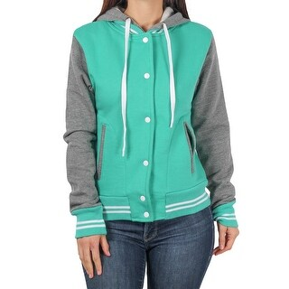 MV Sport Ladies Junior Varsity Fleece Hooded Jacket