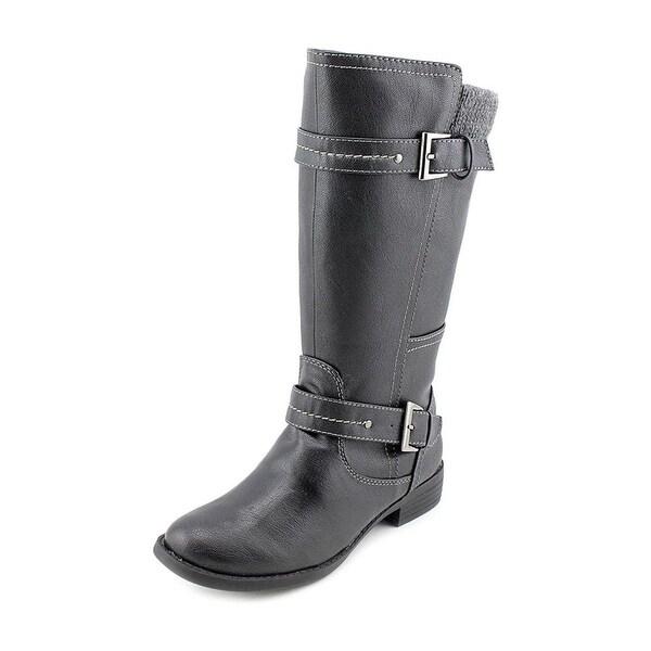 Sporto Womens Nadia Faux Fur Closed Toe Mid-Calf Fashion Boots