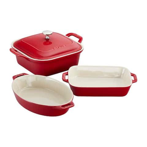 Staub Ceramics 4-pc Baking Dish Set