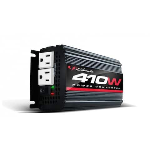 Schumacher XI41B Power Converter for Mobile Entertainment & Electronics, 410W
