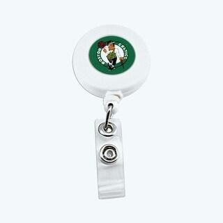 Boston Celtics Retractable Badge Reel Id Ticket Clip