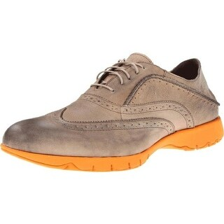 Hush Puppies Mens Leather Brogue Oxfords