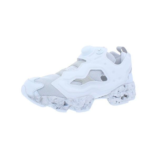 48fa53c081b Reebok Mens InstaPump Fury ACHM Athletic Shoes Casual White 7.5 Medium (D)  - 7.5