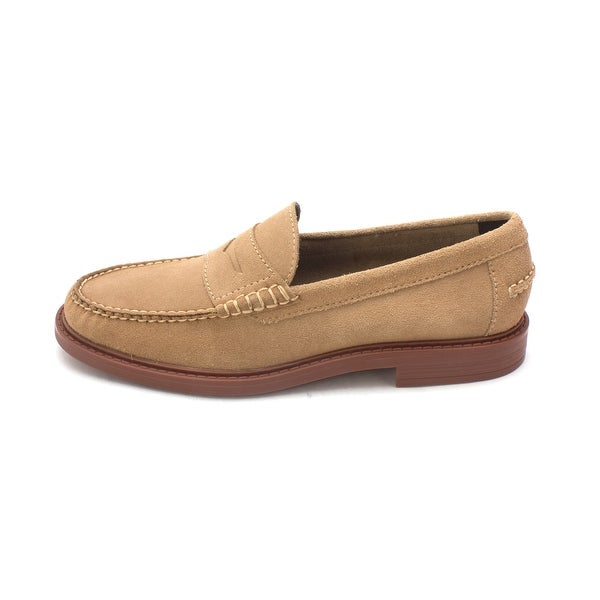 Cole Haan Mens Jamarisam Suede Closed Toe Penny Loafer