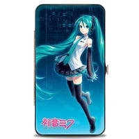 Hatsune Miku V3 Pose Blues Hinged Wallet  One Size - One Size Fits most