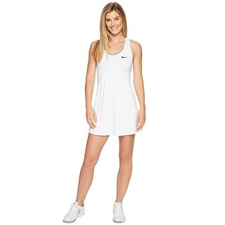 Women's Nike 'Pure' Dri-Fit Tennis Dress White Size Large - L