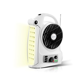 Link to Rechargeable Camping Fan with AM/FM Radio Speaker and LED Work Lamp Similar Items in Optics & Binoculars
