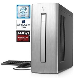 HP Envy 750 Intel Core i7-7700 16GB 1TB HDD Radeon 2GB Windows 10 Pro PC (Certified Refurbished)