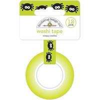 Doodlebug Washi Tape 15Mmx12yd-Creepy Crawlies
