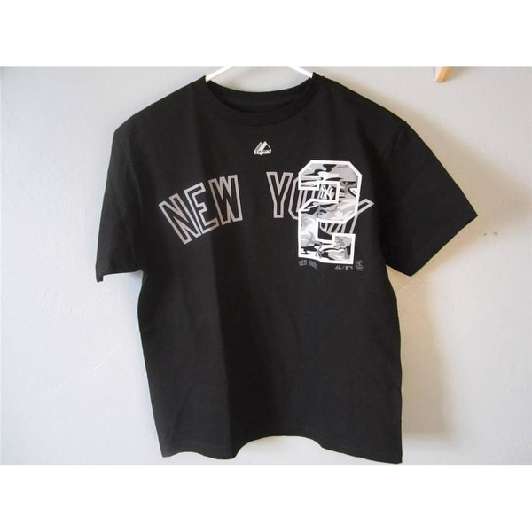 042d8fa66 Shop Mlb  2 Derek Jeter Ny Yankees Youth Large L Majestic T-Shirt - Free  Shipping On Orders Over  45 - Overstock - 23064232