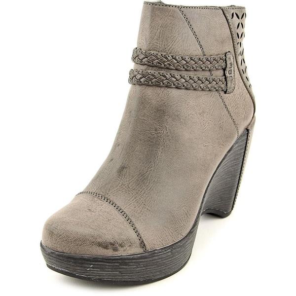 JBU by Jambu Merlot Women  Round Toe Synthetic Gray Ankle Boot