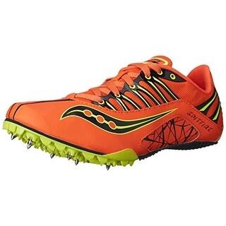 Saucony Mens Spitfire Track Spike Running Shoes - 7.5 medium (d)