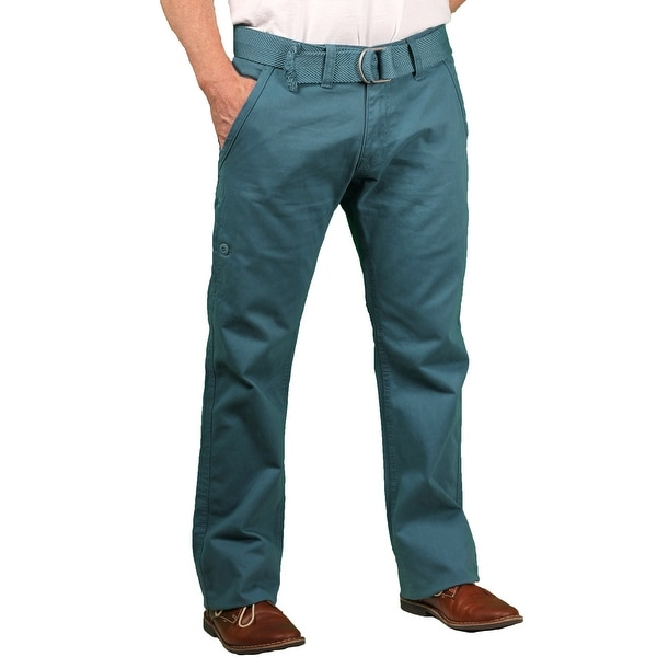 5c2a2bc3 Shop Jordan Craig Young Men's Belted Twill Casual Pant - Free ...