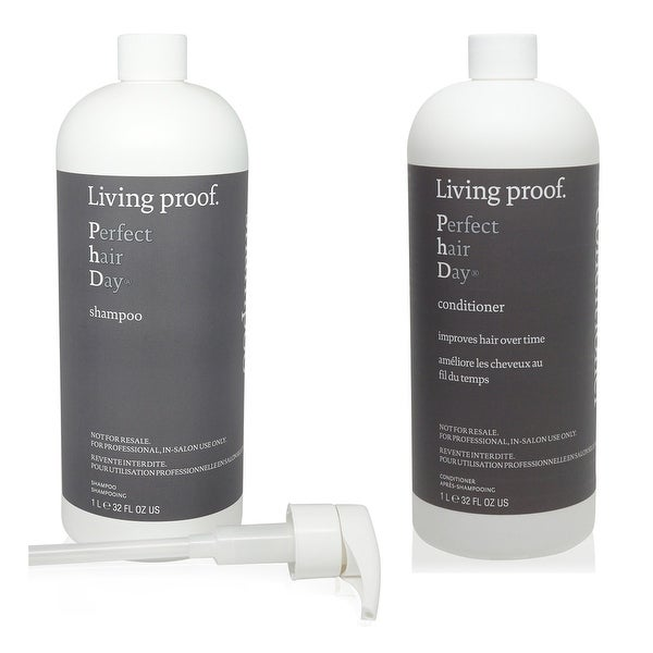 Living Proof Perfect Hair Day 32-ounce Shampoo & Conditioner with Pumps