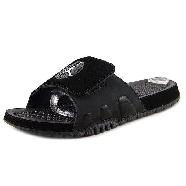 Jordan Hydro IX Retro Open Toe Synthetic Slides Sandal