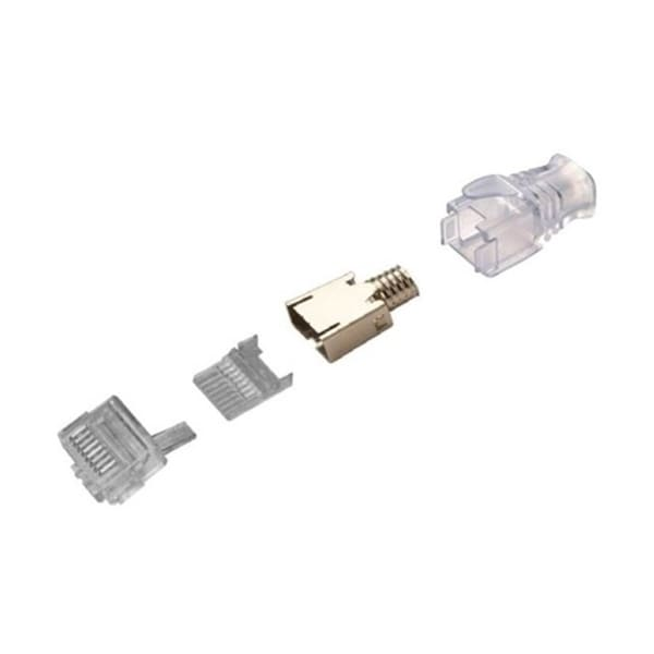 CommScope Cat6 Shielded Modular Plug (100 PACK)