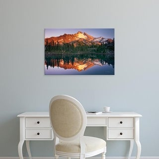 Easy Art Prints Alan Majchrowicz's 'Mount Jefferson' Premium Canvas Art