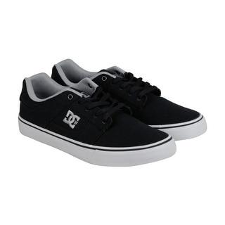 DC Bridge TX Mens Black Textile Lace Up Sneakers Shoes