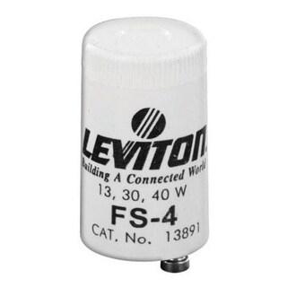 Leviton C20-12410-000 Fluorescent Lamp Starter, 13, 30 & 40 watt