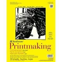 "30 Sheets - Strathmore Printmaking Paper Pad 11""X14"""