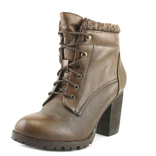 Steve Madden Judii   Round Toe Leather  Ankle Boot
