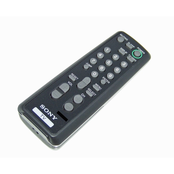 OEM Sony Remote Control Originally Shipped With: KV13M42, KV-13M42