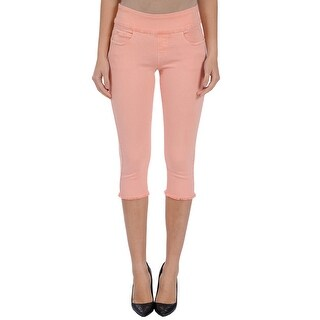 Lola Jeans Michelle-TP, Mid-rise Pull On capris