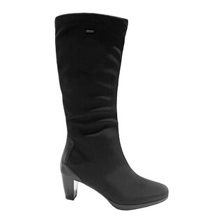ara Women's Thorne 43482 Boot Black GORE-TEX Fabric/Leather Accent