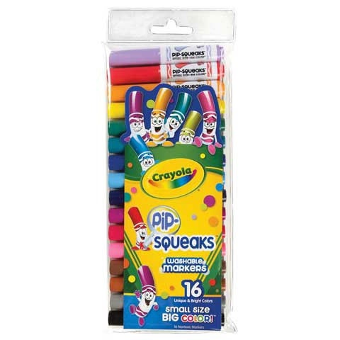 Crayola - Pip-Squeaks Marker Set - 16-Color Set