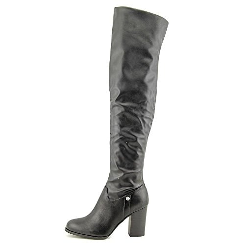 Guess Women's Dandra Leather Over the Knee Boot