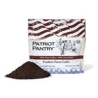 Patriot Survival Coffee - Franklin's Finest - 60 servings - 25 yr Shelf Life