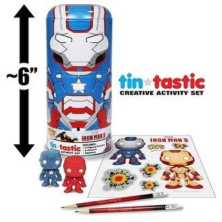 "Marvel Iron Man 6"" Patriot Collector Tin Activity Set - multi"
