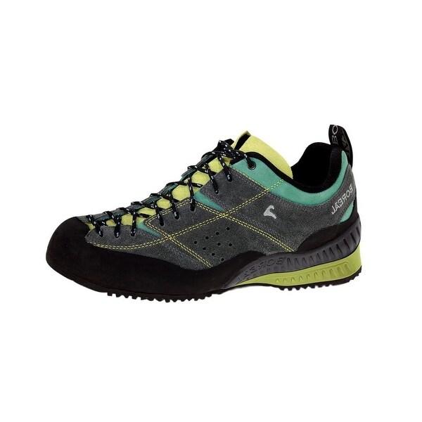 Boreal Climbing Shoes Women Flyers Lightweight Gray Yellow Green