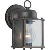 Forte Lighting 1005 Craftsman / Mission Outdoor Wall Sconce from the Exterior Lighting Collection