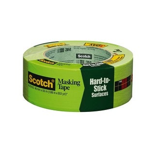 """Scotch 2060-2A Masking Tape For Hard-To-Stick Surfaces, 1.88"""" x 60.1 Yard"""