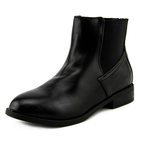 Wanted Carver Women Round Toe Synthetic Black Ankle Boot