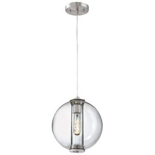 "Forecast Lighting 190154836 1 Light 9.88"" Wide Pendant from the Cosmos Collection"