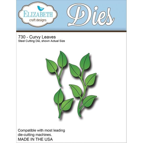 """Elizabeth Craft Metal Die-Curvy Leaves, 2.06""""X2.5"""""""