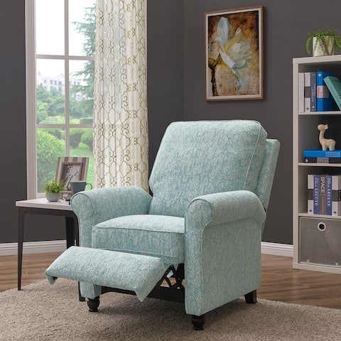 ProLounger Sky Blue Push-back Recliner Chair