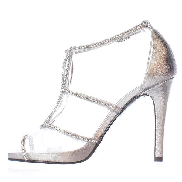 Caparros Womens Ellen Peep Toe Ankle Strap D-orsay Pumps - 7