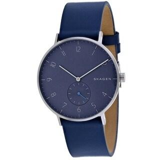 Skagen Men's Aaren SKW6469 Blue Dial Watch
