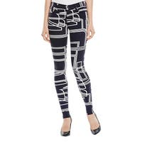 J Brand Womens Skinny Jeans Twill Printed