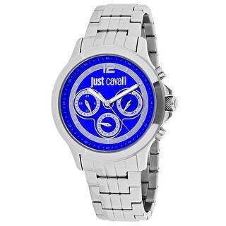 Just Cavalli Men's Just Iron Blue Dial Watch