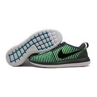 53037c73a8aaf Shop Nike Roshe Two Flyknit Black Black-White-Max Orange 844833-009 ...