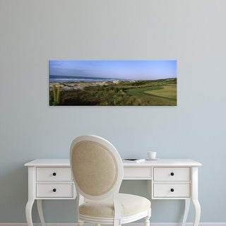 Easy Art Prints Panoramic Image 'Golf course, Kiawah Island Golf Resort, Charleston, South Carolina' Canvas Art
