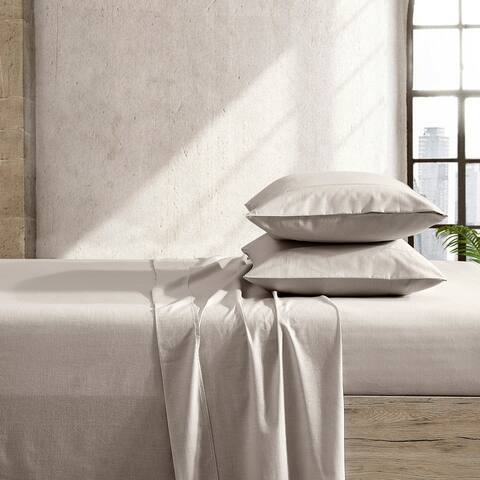 Reborn BCI Cotton and Recycled Polyester Sheet Set